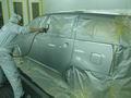 トヨタ ウィッシュ(TOYOTA WISH) 板金塗装 自動車修理事例