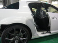 マツダ RX-8 (MAZDA RX-8) 板金塗装 自動車 修理事例