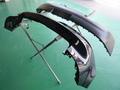 フォルクス ワーゲン ゴルフ GTI (VOLKSWAGEN GOLF GTI) 無塗装樹脂部 ボディ同色 塗装事例