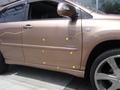 トヨタ ハリアー ハイブリッド 板金 塗装 自動車 修理事例