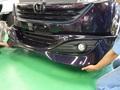 ホンダ ステップワゴン エアロパーツ 塗装 取付け 事例
