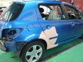プジョー 307 板金 塗装 自動車 修理 事例