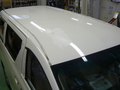 トヨタ アルファード 板金 塗装  いたずら傷 修理 事例