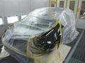 ルノー ルーテシア 板金塗装 いたずら傷 修理 事例