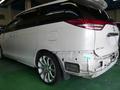 トヨタ エスティマ 無塗装部 ボディ同色 塗装事例