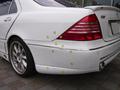 メルセデス ベンツ S500 (W220) 板金 塗装 エアロパーツ 修理事例
