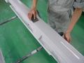 ボルボ V50 (VOLVO V50) 無塗装 モール部 ボディ同色 塗装事例