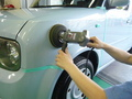 日産 キューブ 板金 塗装 中古部品 使用 修理 事例