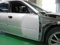 スバル レガシィ 板金塗装 自動車 修理事例