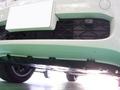 BMW X5 Mスポーツパッケージ (E70) GRW フロントリップスポイラー 塗装 取付 事例