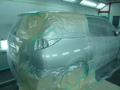 トヨタ エスティマ アエラス 板金 塗装 修理 事例
