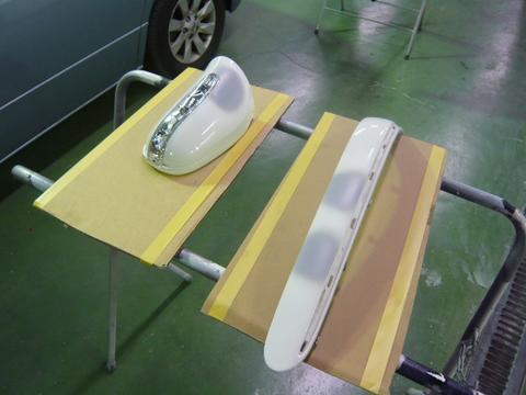 メルセデス ベンツ S320 (W163) 板金 塗装 自動車 修理 事例