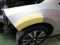 日産 リーフ (NISSAN LEAF) 板金 塗装 自動車 修理 事例