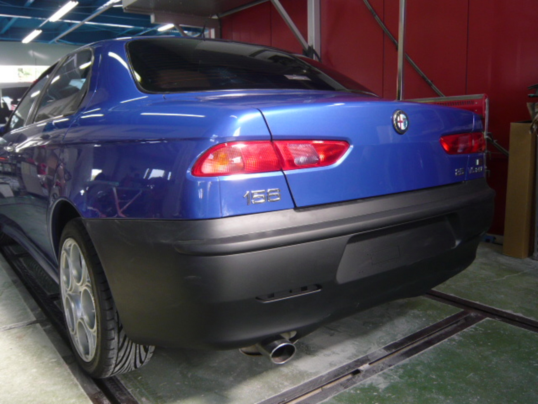 アルファロメオ 156 (ALFAROMEO 156) 板金塗装 自動車修理 事例